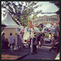 """Circus of the starry sky and the sun. Event in Tokyo Nakano. """"Photo Studio"""""""