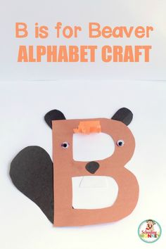 The B is for beaver