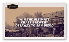 Win the Ultimate Craft Brewery Getaway to San Diego – Ends July 11th #sweepstakes https://www.goldengoosegiveaways.com/win-ultimate-craft-brewery-getaway-san-diego-ends-july-11th?utm_content=buffer16c02&utm_medium=social&utm_source=pinterest.com&utm_campaign=buffer
