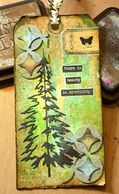 Tim Holtz 12 Tags of 2016 August