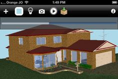 SimLab CAD viewer enables the user to view CAD and architectural models. Great Apps, Architectural Models, Architects, Gazebo, Outdoor Structures, Cabin, 3d, House Styles, Home Decor