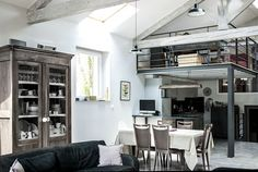 90s Paper Mill In France Transformed Into An Idyllic Modern Loft | Decor Advisor