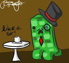 deviantART: More Like Minecraft drawing: chibi Zombie by ~Jojoful7