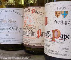 Chateauneuf du Pape top along with N-S-Georges French Wine, French Food, Wine Society, Chateauneuf Du Pape, Spiritus, Wine Wednesday, Wine Parties, Wine Time, Ale