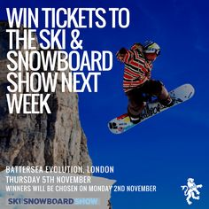 Facebook Competition for tickets to the Telegraph Ski & Snowboard show