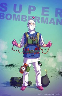 bomberman badass Spectrum The Best in Contemporary Fantastic Art Video Game Characters, Cartoon Characters, Images Disney, Character Art, Character Design, Illustration Photo, Childhood Characters, Nerd, Creation Art