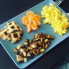 Breakfast fit for a Princess 👸  Scrambled eggs w/cheese Fried Potaoes Halo 🍊  Nutella Stuffed Waffled Toast 🔹 @htebaras crushed it 🔹 Hashtag time! 🔹 #Fitness #FitFam #FlexibleDieting #Gym #BodyBuilding #Cardio #Healthy #Physique #RiseandGrind #Workout #Aesthetic #IIFYM #Fasting #EatWhateverYouWant #Macros #CheatMeal #JunkFood #Postworkout #Foodie #Travel #Candy #Vacation #Inspiration #Train #Deadlift #Youtube #Food #Motivation #Squats #Chocolate 🔹 Click the link in the bio to watch…