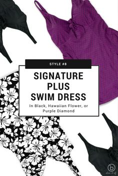 Signature Plus Swim Dress