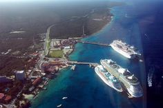 Cozumel, Mexico is the most popular cruise stop on Western Caribbean cruises.