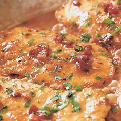 An Italian favorite! Check out this #chickenmarsala with #pancetta and cream