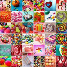 candy mosaic - pretty