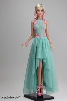 Kingdom Doll in beautiful dress and accessories.