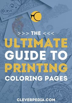Learn everything you need to know to print coloring pages WITHOUT smudging! Including what kind of printer to use, what paper to use, and more.