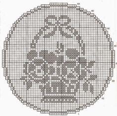 crochet em revista: motivos cestos