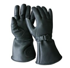 """Churchill Maverick Classic Gauntlet Thinsulate Insulation & Sympatex Glove Classic Deerskin design with a soft deerskin 5"""" wide-cuff (cuff lined with black foam), which extends over the cuff of your coat. Added to this style is 100 grams of Thinsulate™ Insulation & Sympatex®.  Made in the USA http://www.saveyourhideleather.com/product/CGTW"""