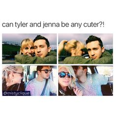 it's time for tyler/jenna appreciation since some idiot decided to leak their address literally right before tour de columbus like wtfff