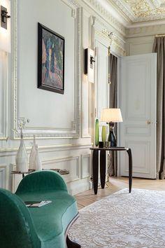 George V Apartment, Paris by Gérard Faivre - Tempo da Delicadeza