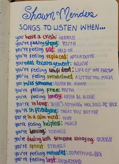 shawn mendes songs to listen when& The post shawn mendes songs to listen when& appeared first on Pink Unicorn. Good Vibes Music, Good Vibe Songs, Music Mood, Mood Songs, Good Vibes Tattoo, Good Vibes Shirt, Shawn Mendes Song Lyrics, Shawn Mendes Music, Shawn Mendes Quotes