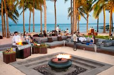 Beach BBQ time at Anantara Sanya -China Places To Travel, Places To See, Beach Bbq, Tropical Pool, Win A Trip, Sanya, Luxury Travel, The Good Place, Tourism