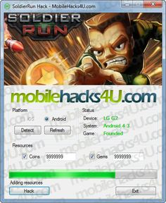 SoldierRun Hack Add Unlimited Gems download online, Full version of SoldierRun Hack Add Unlimited Gems no survey. Get SoldierRun Hack Add Unlimited Gems updated SoldierRun Hack Add Unlimited Gems. Working SoldierRun Hack Add Unlimited Gems