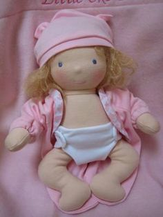 Waldorf Baby Doll - etsy.....I've been looking at one of this for Chloe... so adorable :)