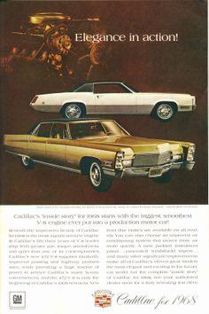 1968 Cadillac Fleetwood Eldorado and Fleetwood Brougham