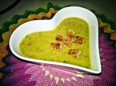 Black and Pink: Szparagowa zupa krem