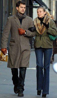 diane kruger and joshua jackson stylish couple