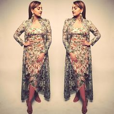 Sonakshi Sinha accessorised her outfit in the most apt way possible
