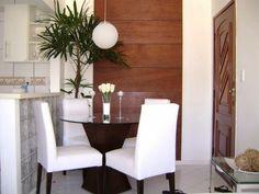 sala de jantar bem pequena