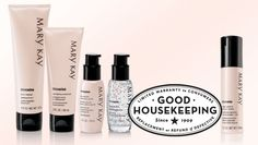TimeWise Night Restore & Recover Complex and TimeWise Miracle Set have earned the prestigious Good Housekeeping Seal!