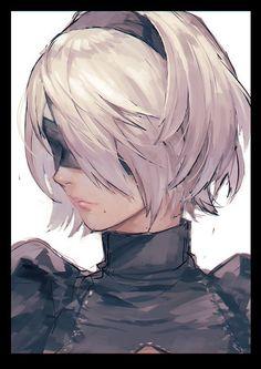 Imagen de anime, video game, and nier automata