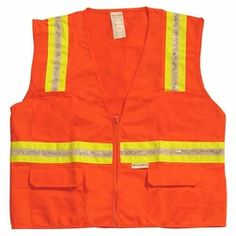 Orange ANSI Class 1 Safety Vests « Safety Equipment Blog