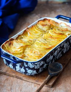 Gratin Dauphinois very simple, Cooking Recipes For Dinner, Vegetarian Meals For Kids, High Protein Vegetarian Recipes, Easy Cooking, Healthy Soup, Gratin Dauphinois Rezept, Health Dinner, Food Dishes, Food Inspiration