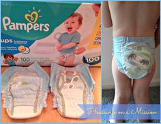 Housewife on a Mission: Pampers Easy Ups Review {+ A Giveaway} - ends June 20, 2014