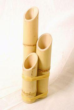 Artesanato em bambu                                                                                                                                                     Mais