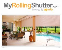 Here Is A Video Of The Somfy Motorized Solar Shade