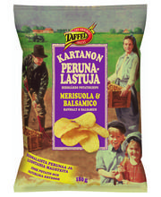 Kartanon Merisuola&Balsamico 180 g perunalastut, 2,80 e
