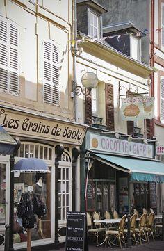 Trouville-sur-Mer, a village of fishermen inNormandy, France.... on the Atlantic coast.