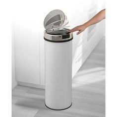 Buy Morphy Richards Accents 50L Round Sensor Bin - White at Argos.co.uk - Your Online Shop for Kitchen bins.