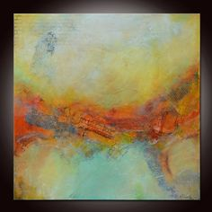 Abstract Painting Large Abstract Painting Textured by Andrada, $560.00