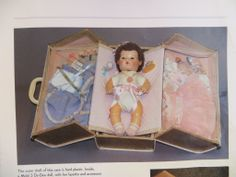 """VERY RARE"" MINT Effanbee Dy-Dee Doll Trunk for 15"" Doll"