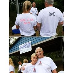 Another #tbt from the 3rd Annual Esophageal Cancer Walk/Run on June 14, 2014. Tracy from the Personal Lifestyle Fitness team with her dad!