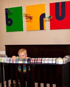 Crib Bumper Repurposed as Teething Rail