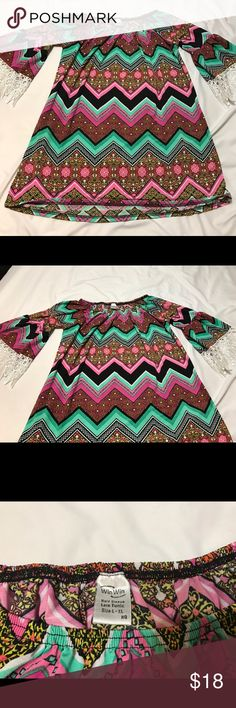 Maternity Top Fun spunky colored maternity tunic! Dress it up or down this shirt looks great on everyone and all size bumps! Works fine for non pregnant women also! Tops Blouses