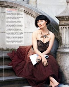 Essie Davis as Phryne Fisher ~ Miss Fisher's Murder Mysteries