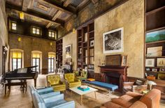 New home of Mary-Kate Olsen and her fiance Olivier Sarkozy