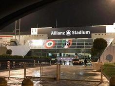 Ecco le prime immagini della trasformazione dello Juventus Stadium che, come era stato annunciato, diventa Allianz Stadium: è questo il nuovo nome della