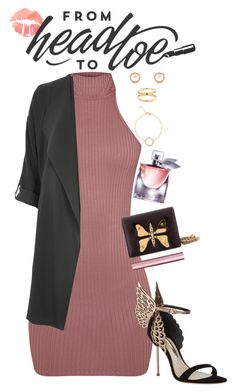 """""""La vie est belle"""" by havenrose ❤ liked on Polyvore featuring Sophia Webster, Lancôme, River Island, Gucci, Too Faced Cosmetics, contestentry and jenchaexmejuri"""