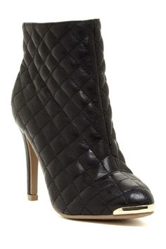 GC Shoes Petra Quilted Stiletto Bootie by Non Specific on @HauteLook